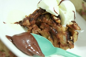Recipe: Bread & Nutella Pudding