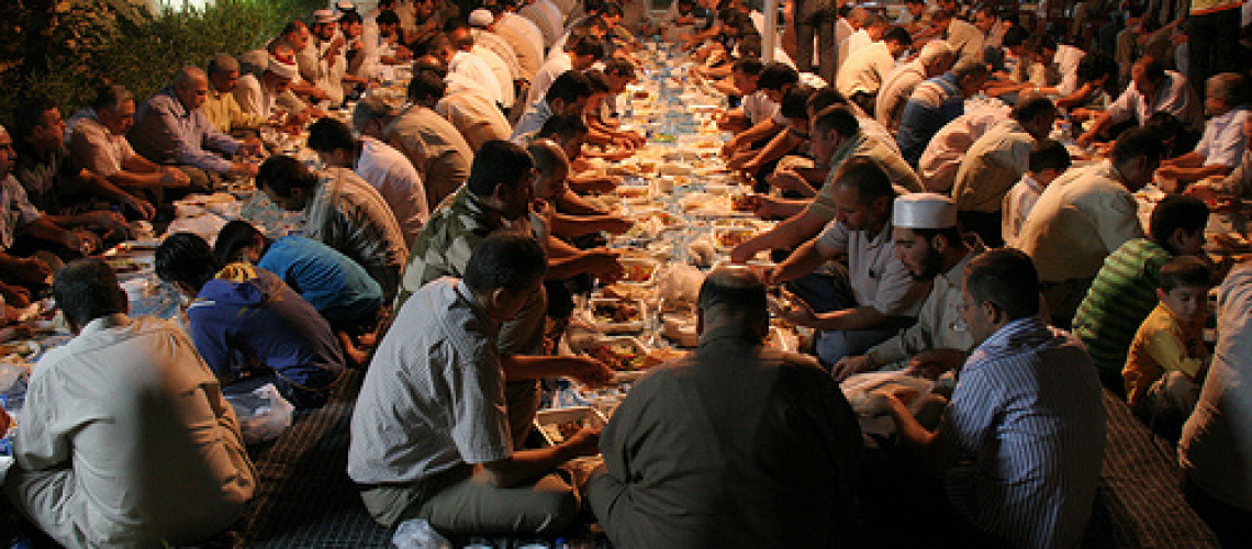 Fasting Not Feasting