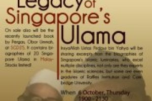 Event Review: Legacy of Singapore's Past Ulama