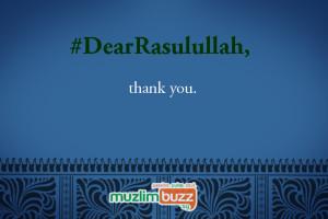 #DearRasulullah