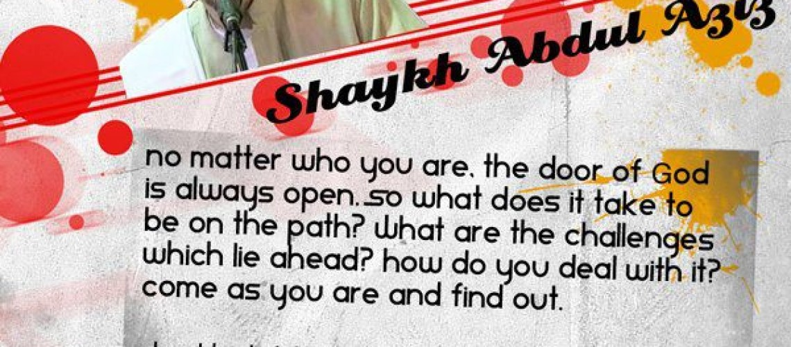 """Event Review: """"Come As You Are"""" with Shaykh Abdul Aziz Fredricks"""