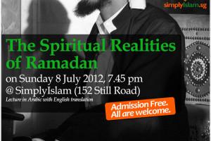Event Review: Spiritual Realities of Ramadan with Habib Kadhim al-Saqqaf