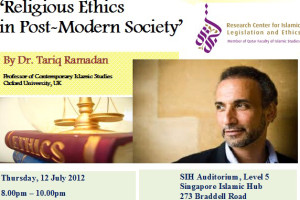 Event Review: Religious Ethic in Post-Modern Society by Prof Tariq Ramadan