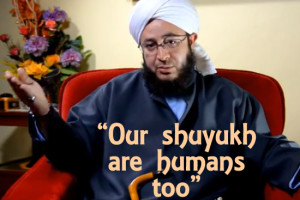 "Video: Shaykh Ahmad Saad ""Our Shuyukh are Humans too"""