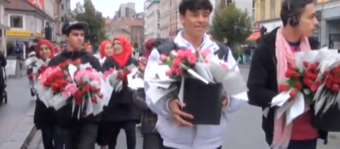 """Roses, Not Protest – Norwegian Muslims respond to """"Innocence of Muslims"""""""