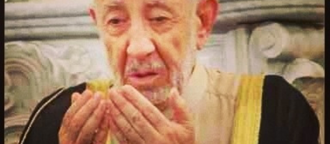 Sheikh Dr Mohammed Saeed Ramadan al-Bouti martyred in a suicide bombing in Damascus mosque