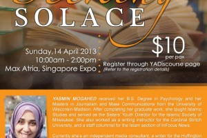 Event Review: Seeking Solace by Yasmin Mogahed