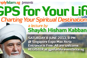 Event Review: GPS for your life; Charting your spiritual destination