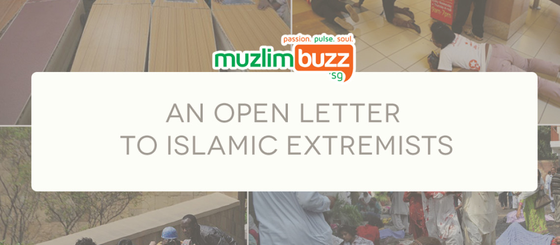 """An Open Letter to """"Islamic"""" Extremists"""