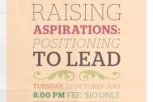 Event Review – Raising Aspirations: Positioning to Lead