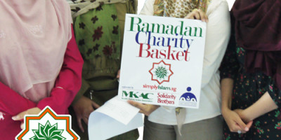 Ramadan Charity Basket; Portrait of a Recipient – Mr Faruk & Zaiton