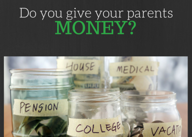 Do you give your parents