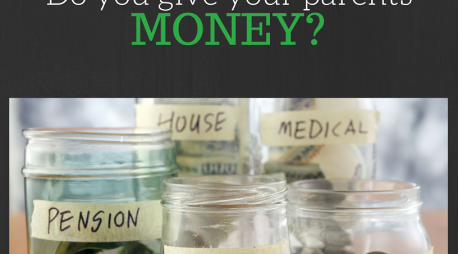 Do You Give Your Parents Money?
